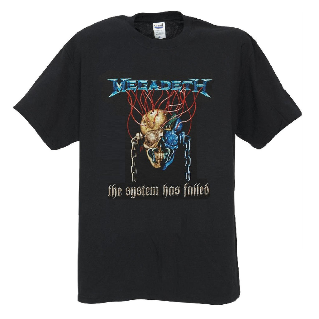 Megadeth 'System Failed' T-Shirt (2X)