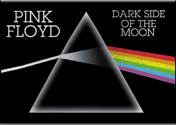 Pink Floyd Dark Side Of The Moon Logo Magnet