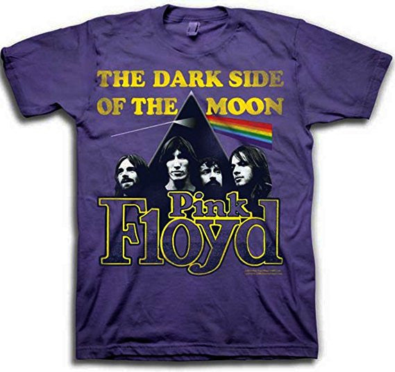 Pink Floyd Dark Side Of The Moon Purple T-Shirt (Small)