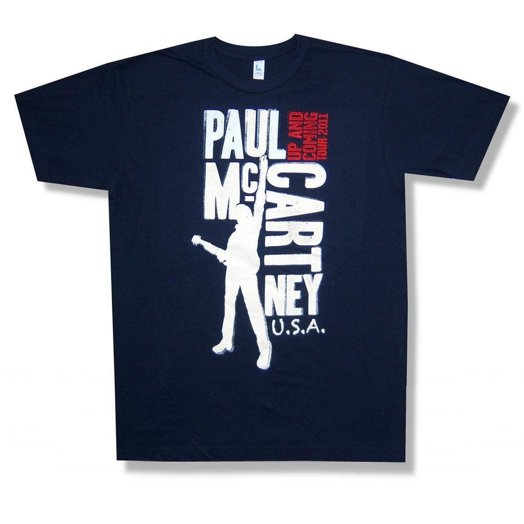 Paul McCartney Blocks 'Up And Coming' Tour T-Shirt (Small)