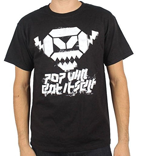Pop Will Eat Itself Angry Robot Men's T-shirt (2X)