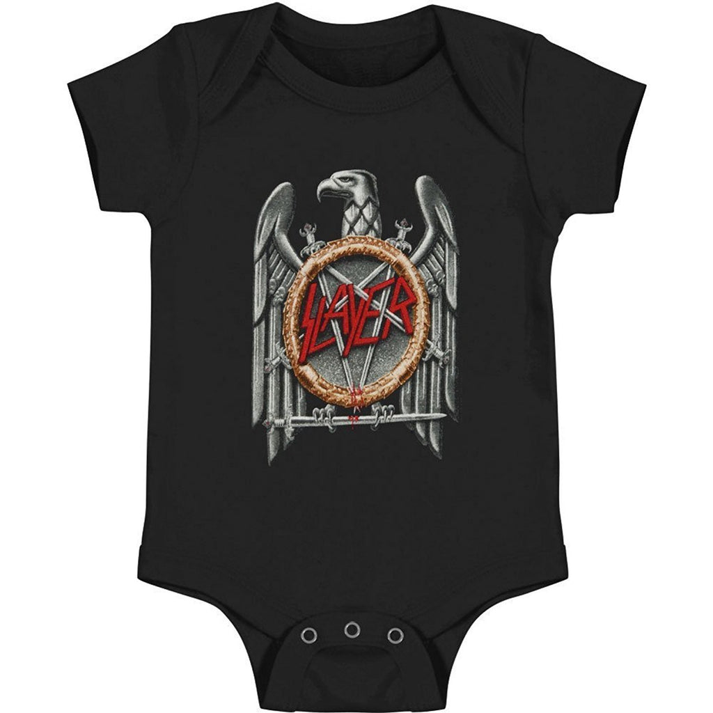 Slayer Silver Eagle Baby Romper (12-18M)