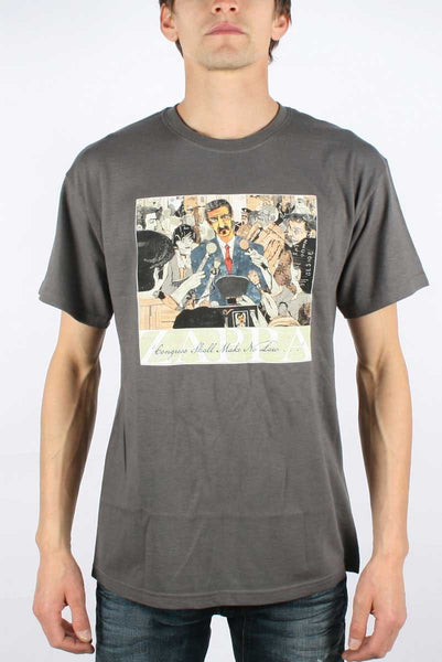Frank Zappa Congress album Charcoal T-Shirt (Small)