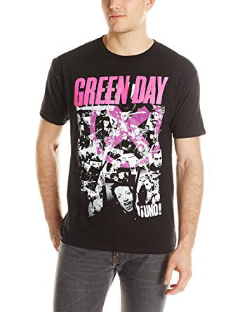 Green Day His Story Black T-Shirt (X-Large)