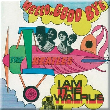 Beatles Magnet I Am The Walrus 3 inch square