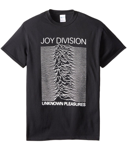 Joy Division Unknown Pleasures Men's T-shirt, Black