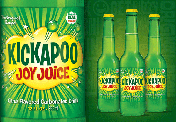 Kickapoo Joy Juice Glass Bottles