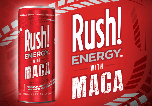 Rush! Energy with Maca Slim Can