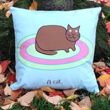 Cushion With Rhyme – Cat