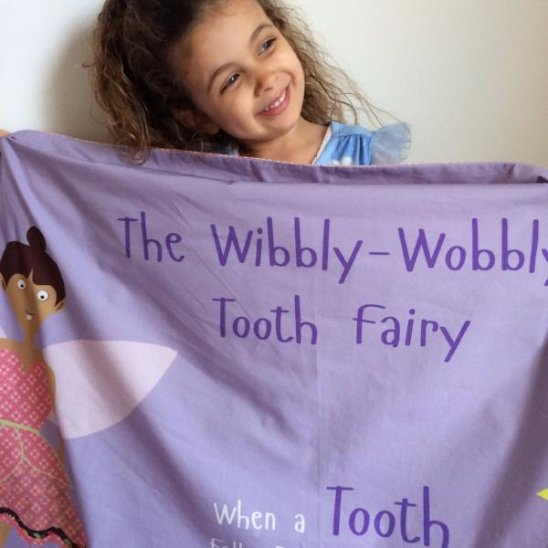 The Wibbly Wobbly Tooth Fairy – Purple