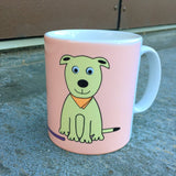 Dog Mug With Rhyme