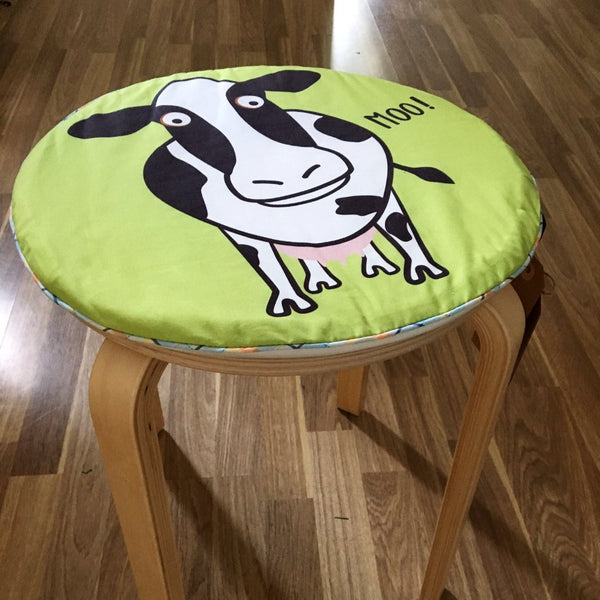 Farm Animal Seat Pad - Round