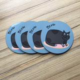 Farm Animal Coasters - Round