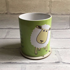 Mug With Rhyme - Sheep