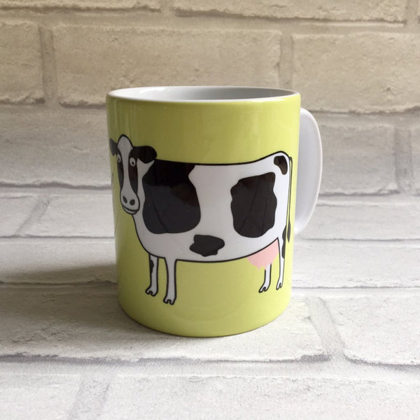 Cow Mug With Rhyme