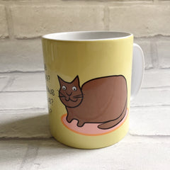 Cat Mug With Rhyme