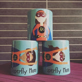 Superfly Mum Personalised Mug