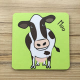 Farm Animal Coaster Set