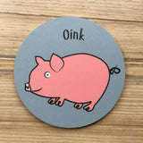 Farm Animal Coasters - Matt Finish