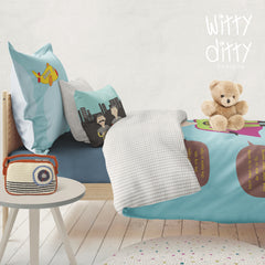 Everything A Little Boy Needs To Be Pirate - Toddler Duvet Set