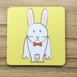 Farm Animal Square Coasters - Matt finish