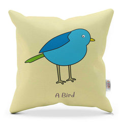 Bird Cushion With Rhyme