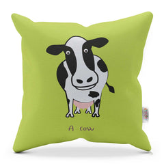 Cushion With Rhyme – Cow