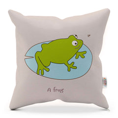 Cushion With Rhyme – Frog