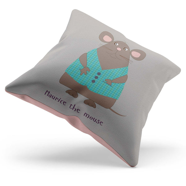 Mouse Cushion With Rhyme