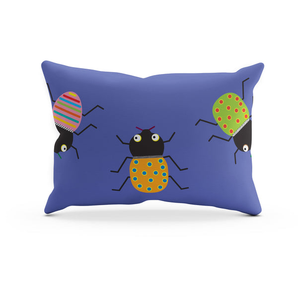 Little Bug Pillowcase – Blue