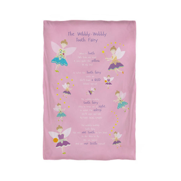 The Wibbly Wobbly Tooth Fairy – Pink