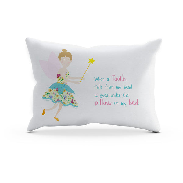 Kids Duvet Cover - The Wibbly Wobbly Tooth Fairy – White