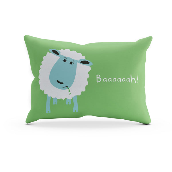 Sleepy Head the Sheep Pillowcase – Blue