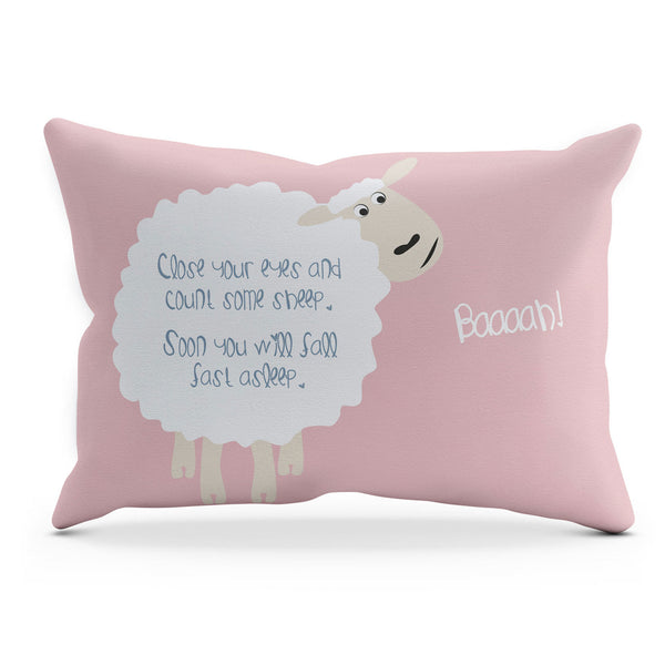 Sheep Cushion – Pink