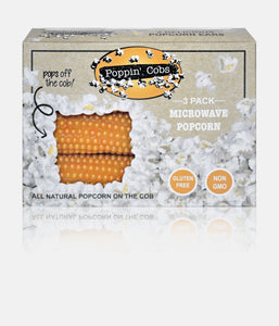 Popcorn on The Cob - Poppin' Cobs 3 Pack