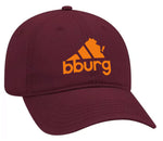 Blacksburg All Day hat - marroon