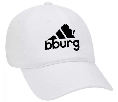 Blacksburg All Day hat - white