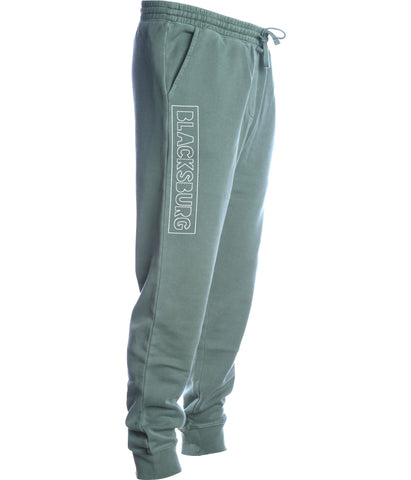 BLACKSBURG Fleece pant - alpine green