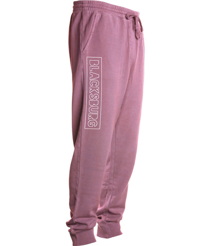 BLACKSBURG Fleece pant - maroon