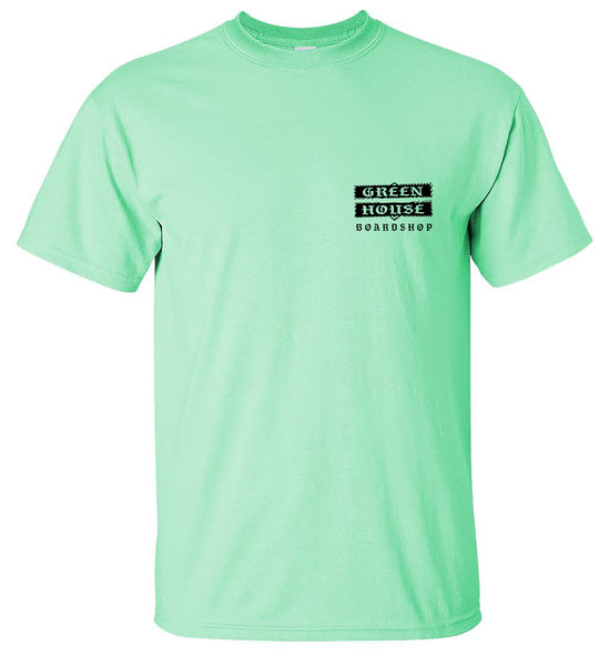 DIMENSIONAL TEE - MINT colorway