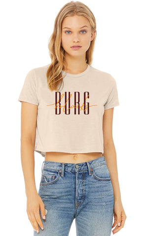 BLACKSBURG flowy crop tee