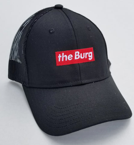 BurgBox - black mesh back