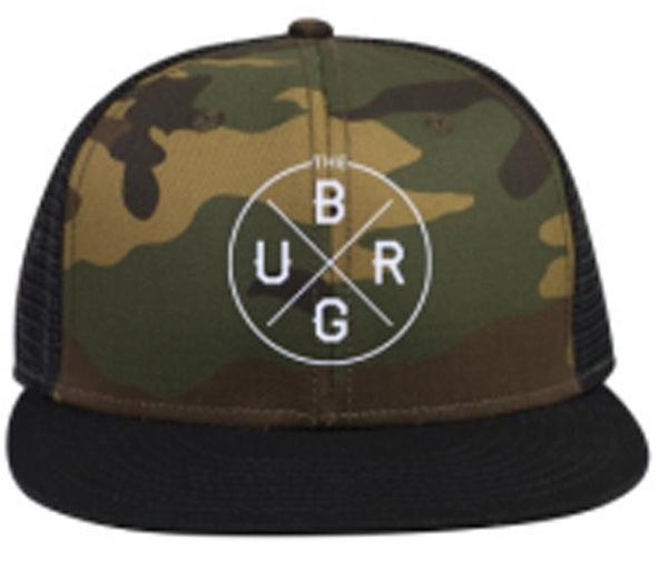 Blacksburg Authentic mesh back camo hat