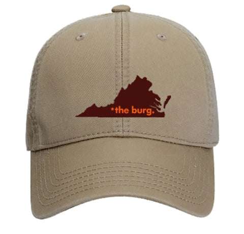 The burg hat - tan