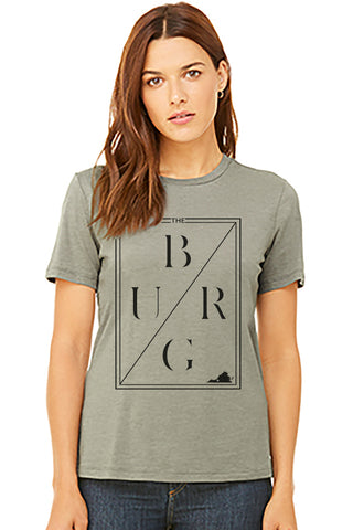 The burg relaxed jersey womens cut tee