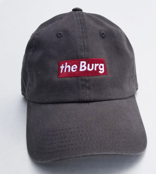 BurgBox - charcoal grey dad hat