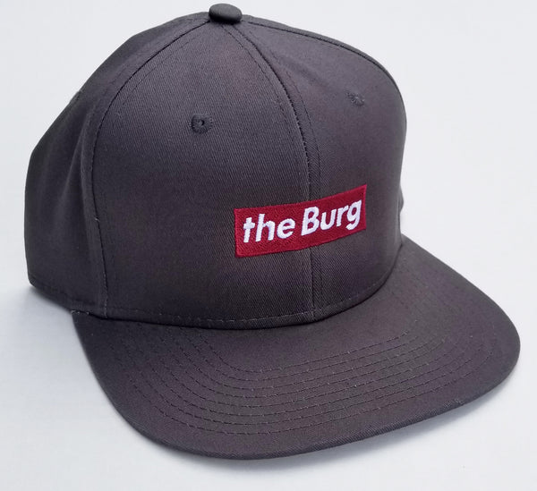 BurgBox - charcoal grey