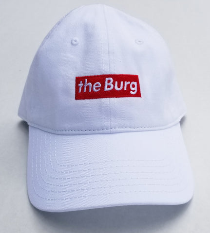 BurgBox - white dad hat