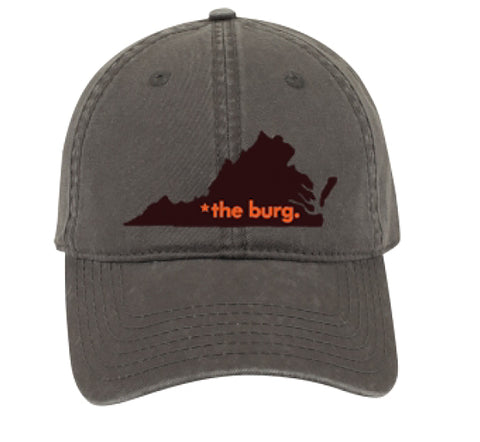 The burg hat - charcoal