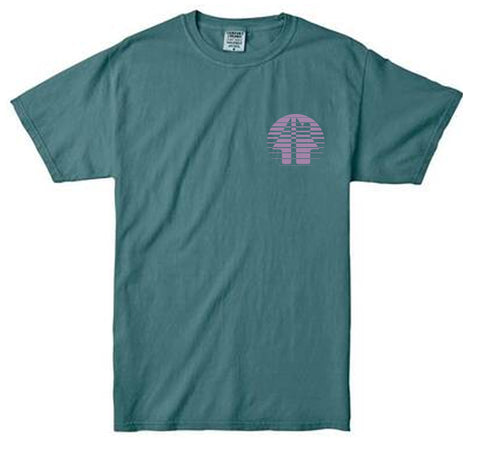GH FADED TEE - bluespruce colorway